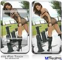 iPod Touch 2G & 3G Skin - Joselyn Reyes 005 Fishnet Bikini